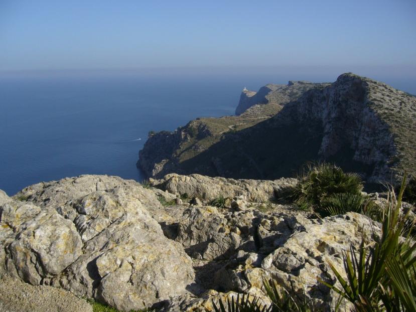 Formentor Cape, Mallorca island.